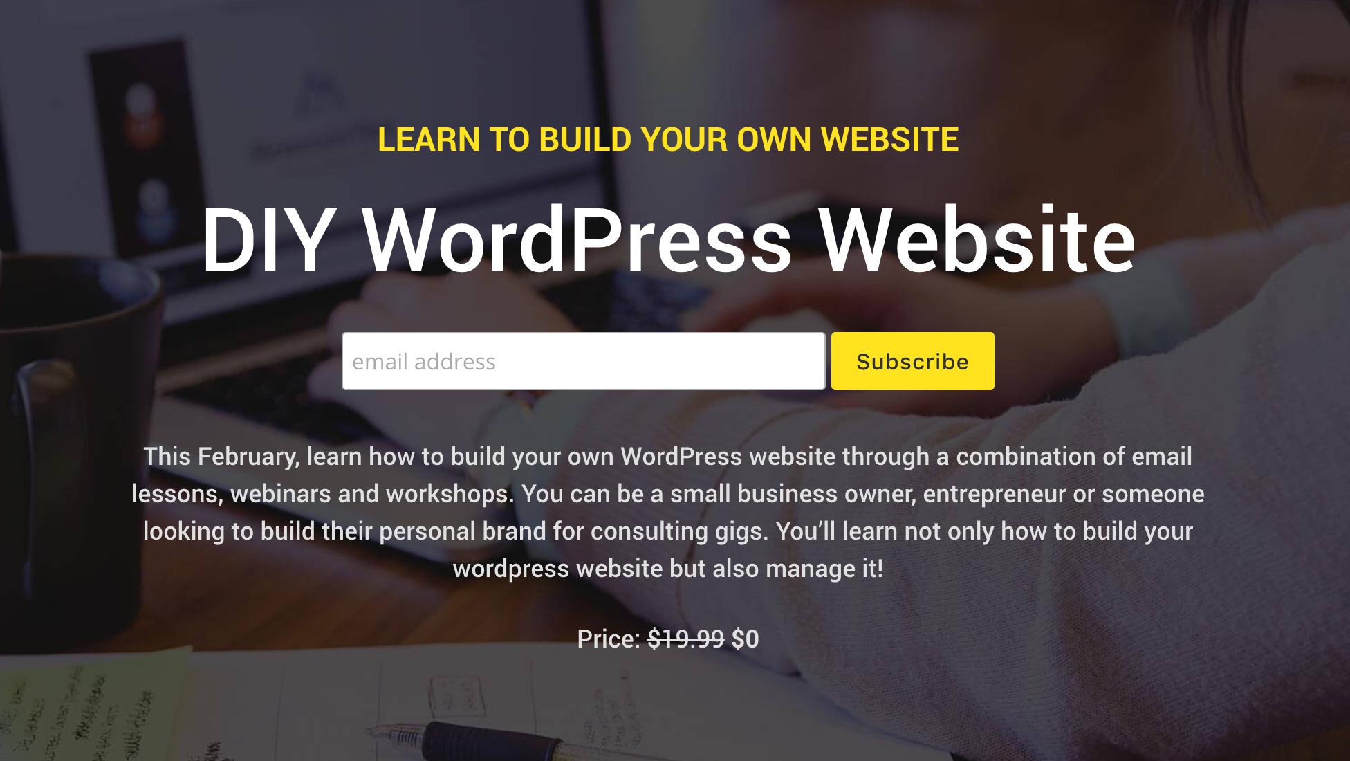 DIY Wordpress Website Course by DesignSingh - DesignSingh